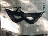Маска Зорро , кожаная маска, карнавальная маска