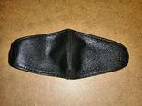 Кожаная маска на глаза от яркого света,маска ,для глаз фото 3