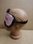 Маска для сна розовая фото 3