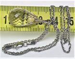 Подвеска кулон и цепочка длина 45 см серебро 925 проба 3,79 грамма Рыбы, фото №5