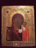 Икона Богородицы Золото, резьба, фото №3