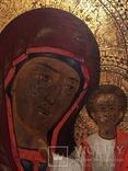 Икона Богородицы Золото, резьба, фото №6
