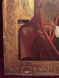 Икона Богородицы Золото, резьба, фото №7