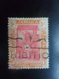 Британские колонии. Ямайка. 1921 г.  гаш, фото №2