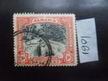 Британские колонии. Ямайка. 1901 г. Водопад. гаш, фото №2