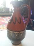 Кувшинчик керамический и 3 стопки, фото №5