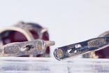 Серебряное кольцо и серьги  875, фото №7