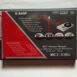 Новая аудиокассета BASF+лицензионная EMMANUELLE+18 кассет и бокс, фото №2