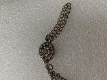 Винтажный металический браслет с Англии 26 грамм, фото №6