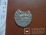 Полугрош Ягелончик   серебро   (М.4.35)~, фото №5