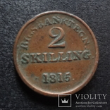 2 скиллинга 1815 Дания (П.3.20), фото №2