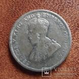 25 центов 1919 Цейлон серебро (М.3.59), фото №7
