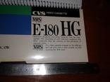 CVS Видеокасета VHS E-180, фото №13