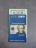 Неразрезанные 20 долларов 4 купюры 2013 год, фото №5