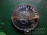 Доллар 1975  Канада  серебро  (2.4.15)~, фото №2