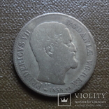 16 скиллингов 1858  Дания   серебро     (А.7.21)~, фото №3
