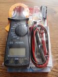 Токовые клещи DT3266L мультиметр тестер,Клещи токоизмерительные, фото №2