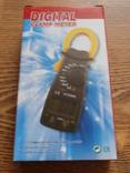 Токовые клещи DT3266L мультиметр тестер,Клещи токоизмерительные, фото №4