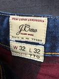 Джинсы с Подкладкой J.Crew размер 32/32, фото №7