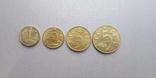 Набор монет ссср 1926 год 1-2-3-5 копеек копии, фото №2
