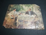 Открытка Сталин и Горький, фото №7