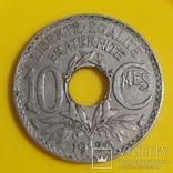 Франція 10 сантимів, 1936