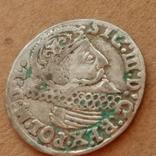 Трояк 1624г, фото №5