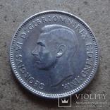 6 пенсов 1942 Австралия серебро (П.6.10), фото №3