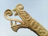 Велика ручка для ножа з кості., фото №2