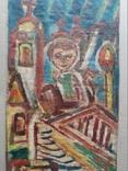 """Свеча"" х.на к./м.  Ю.Коваленко (1931-2004), фото №3"