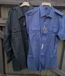 Рубашка и тениска.Форменная.Швейцария.100% coton.Новые две шт., фото №2