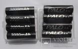 Аккумуляторы PALO тип AA, Ni-Mh 3000mAh (8шт), фото №2