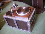 Граммофон-патефон на электро-приводе ( стиль - компиляция лофт , хай-тек и т.д.), фото №3