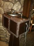 Граммофон-патефон на электро-приводе ( стиль - компиляция лофт , хай-тек и т.д.), фото №5