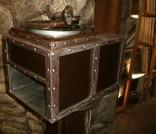 Граммофон-патефон на электро-приводе ( стиль - компиляция лофт , хай-тек и т.д.), фото №8