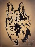 Картина, Пёс, 15х20 см. Живопись на холсте, фото №2