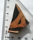 Фрагмент крышки краснофигурной леканы. Ольвия., фото №6