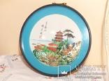 картина из  перламутра - япония или старый китай -, фото №2