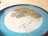 картина из  перламутра - япония или старый китай -, фото №8