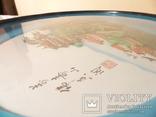 картина из  перламутра - япония или старый китай -, фото №9