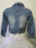 Куртка джинсовая р42-44 (S-M), фото №3