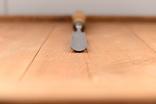 Скульптурная полукруглая стамеска шириной 28мм., фото №6