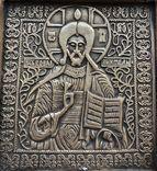 Икона Господь Вседержитель в киоте, фото №5