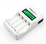 Зарядное устройство PALO для аккумуляторов AA/ AAA с жк-дисплеем