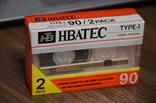 Аудиокассеты HBATEC 2 шт. одним лотом, фото №2