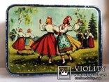 Коробка Norma Латвийский танец. Таллин 50е годы, фото №2
