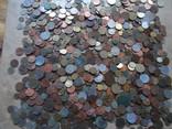 Супер-мего Гора монет с нашими и зарубежными (1221 монета)