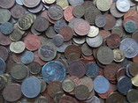 Супер-мего Гора монет с нашими и зарубежными (1221 монета) фото 4