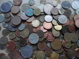 Супер-мего Гора монет с нашими и зарубежными (1221 монета) фото 5