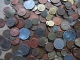 Супер-мего Гора монет с нашими и зарубежными (1221 монета) фото 8